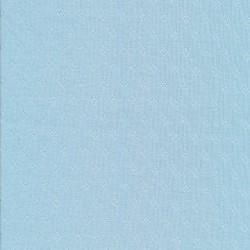Ribstrikket jersey i bomuld med rude i lyseblå