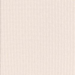 Ribstrikket jersey i bomuld med mønster i offwhite