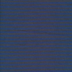Stribet ribstrikket jersey i grå og blå