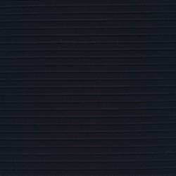 Polyester strik-jersey med læg i striber i marine
