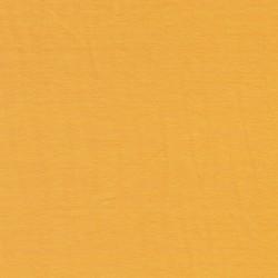 Jersey økotex bomuld/lycra, gul