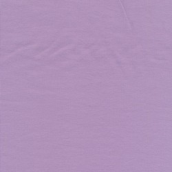 Jersey økotex bomuld/lycra, lyselilla