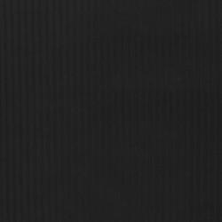 Fløjlsjersey i sort