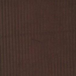 Fløjlsjersey i mørkebrun