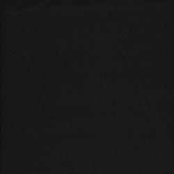 Kanvas 100% bomuld i Halv Panama i sort