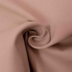 Kanvas 100% bomuld i Halv Panama, pudder-rosa