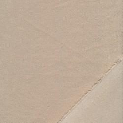Tynd Imiteret læder med stræk krakeleret i beige
