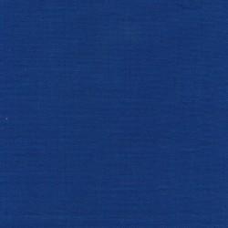 Liggestole stof ensfarvet klar blå