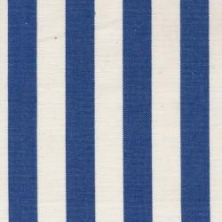 Rest Liggestole stof stribet blå/off-white, 180 cm.