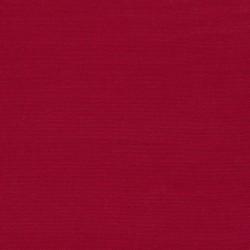 Liggestole stof ensfarvet rød
