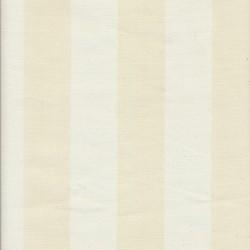 Liggestole stof stribet off-white/creme