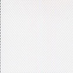 Netstof i polyester i hvid