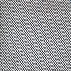 Netstof i polyester i sort