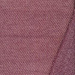 Twill vævet i uld-look i rosa og mørk rosa