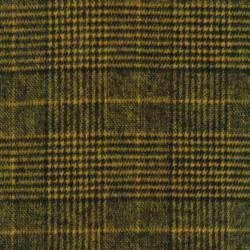 Ternet uld-look i sort og carry-gul