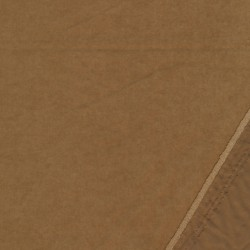 Cupro i polyester i camel