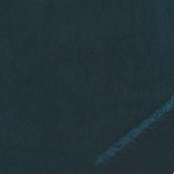 Rest Cupro i polyester i mørk petrol, 65 cm.