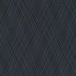 Afklip Patchwork stof med skrå striber i koks og grå 50x55 cm.