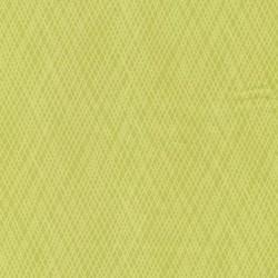 Afklip Patchwork stof med skrå striber i lime og lys lime, 50x55 cm.