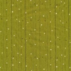 Afklip Patchwork i træ-look i lime-grøn 50x55 cm.