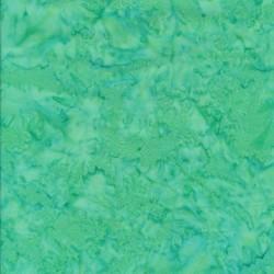 Patchworkstof batik i opal og mint