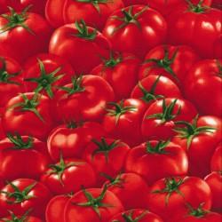 Patchwork stof med tomater