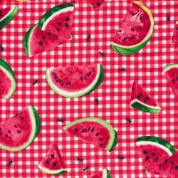 Patchwork stof ternet med vandmelon