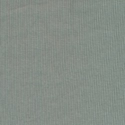 Rib/Ribstrikket jersey i lys grå-grøn, bredde 122 cm.