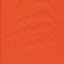 Regnstof ensfarvet orange