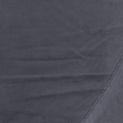 Rest Imiteret ruskind med stræk i grå- 60 cm.
