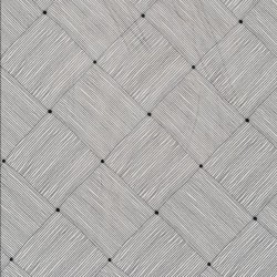 Silke-chiffon med flet-mønster i lysegrå og mørkegrå