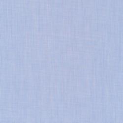 Skjortestof let meleret i lyseblå