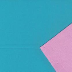 Softshell 2-farvet lys turkis og lyserød