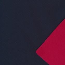 Softshell 2-farvet mørkeblå og rød