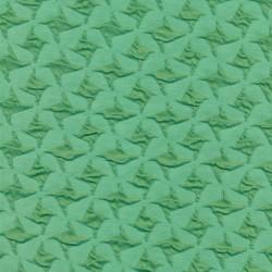 Rest Jacquard strik i hanefjeds-look, mint/grøn, 150 cm.