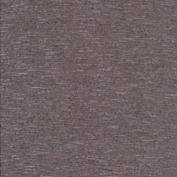 Let strik/jersey meleret pudder-brun