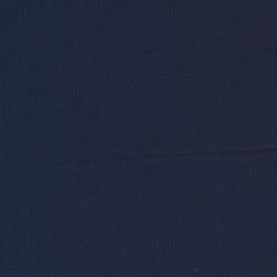 Jersey/strik viscose/polyester, marine