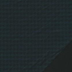Rest Vinter jersey i hanefjedsmønster i flaskegrøn og sort- 75 cm.