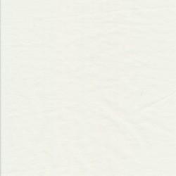 Strik i bomuld i knækket hvid