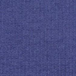Jacquard strik jersey rillet i denimblå