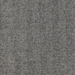 Strik i sildebens-look i lysegrå og koksgrå