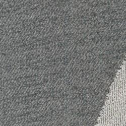 Let strik i bomuld i grå-meleret twill-look