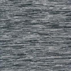Let stribet/meleret strik i grå, sort, lysegrå