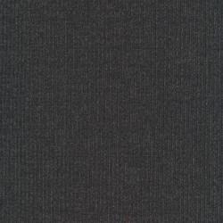 Ribstrikket meleret strik i viscose polyester, koksgrå
