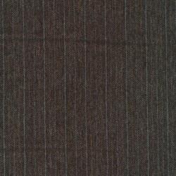 Tweed i sildeben i mørkebrun, beige og grå-blå