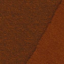 Filtet uld/strik, meleret brændt orange