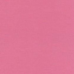 Ribstrikket jersey uld/polyester, lyserød