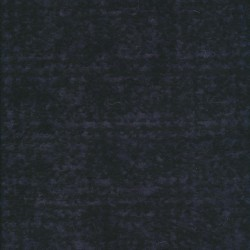 Strikket uld sort støvet blå