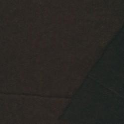 Let filtet uld/strik, mørkebrun
