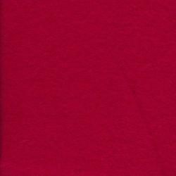 Boucle rød uld/viscose